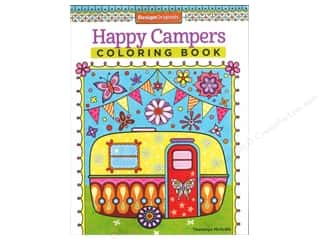 books & patterns: Design Originals Happy Campers Coloring Book