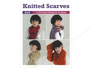 crochet button: Knitted Scarves Book by Taunton Press