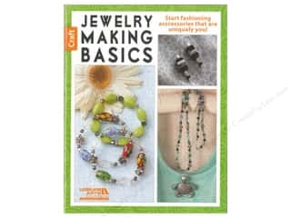 beading & jewelry making supplies: Leisure Arts Jewelry Making Basics Book