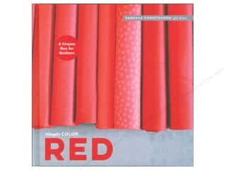 books & patterns: Simply Color: Red: A Crayon Box for Quilters Book by Vanessa Christenson