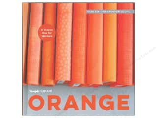 books & patterns: Simply Color: Orange: A Crayon Box for Quilters Book by Vanessa Christenson