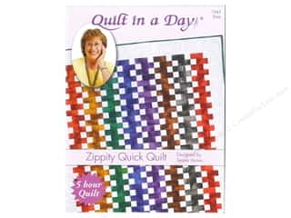 Quilt Pattern: Quilt In A Day Zippity Quick Quilt Pattern