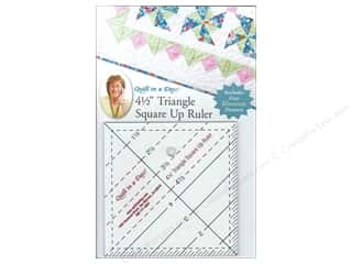 "ruler: Quilt In A Day Ruler 4.5"" Triangle Square Up"