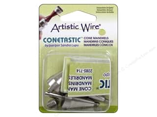 beading & jewelry making supplies: Artistic Wire Conetastic Cone Tool - Hourglass Mandrels