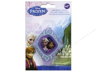 candle making: Wilton Decorations Birthday Candle Disney Frozen