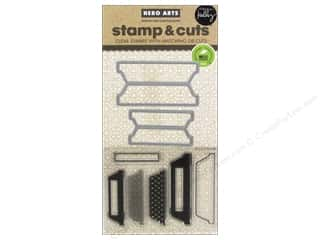 die cutting machines: Hero Arts Stamp & Cuts Scored Tabs