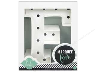 "craft & hobbies: Heidi Swapp Marquee Love Letter Kit 8 1/2 in. ""F"""