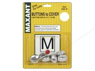 Maxant Button & Supply: Maxant Cover Button Refill Size 30
