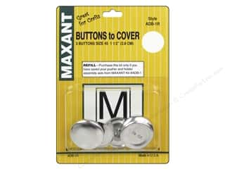 Maxant Button & Supply: Maxant Cover Button Refill Size 45