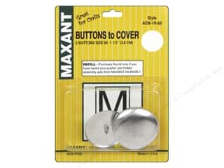Maxant Button & Supply: Maxant Cover Button Refill Size 60