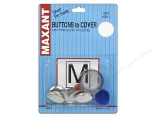 Maxant Button & Supply: Maxant Cover Button Kit Size 36