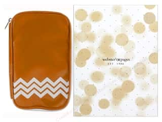 Webster's Pages Color Crush CraftMate Folio Caramel