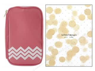 Fabric Bags / Purses: Webster's Pages Color Crush CraftMate Folio Lt Pink