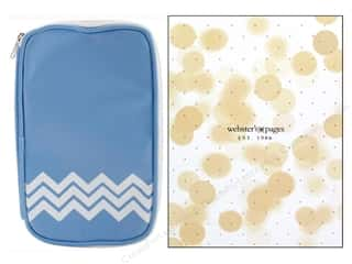scrapbooking & paper crafts: Webster's Pages Color Crush CraftMate Folio Sky