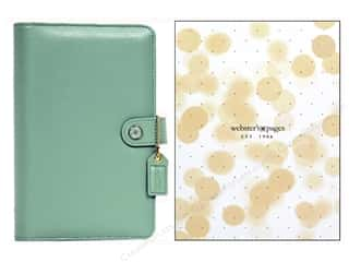 binders: Webster's Pages Color Crush 2015 Personal Planner Kit Light Teal