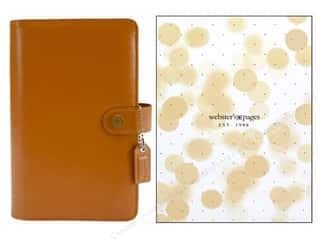 Everything You Love Sale Scrapbooking: Webster's Pages Color Crush Personal Planner Binder Caramel