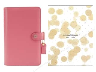 Everything You Love Sale Scrapbooking: Webster's Pages Color Crush Personal Planner Binder Light Pink