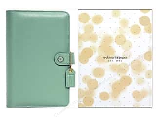 Everything You Love Sale Scrapbooking: Webster's Pages Color Crush Personal Planner Binder Light Teal