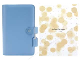 binders: Webster's Pages Color Crush Personal Planner Binder Sky