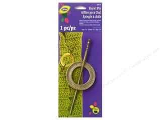 LoRan/Dritz Shawl Pin Set Metal Round Brass