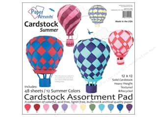 Weekly Specials Collection Kit: Paper Accents 12 x 12 in. Cardstock Pad 48 pc. Summer