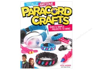 beading & jewelry making supplies: Design Originals Totally Awesome Paracord Crafts Book