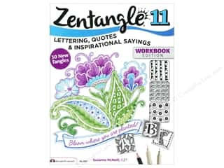books & patterns: Design Originals Zentangle 11 Workbook Edition Book