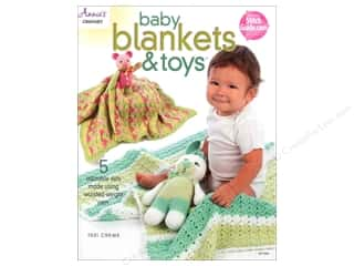 Annie's Baby Blankets & Toys Book by Teri Crews