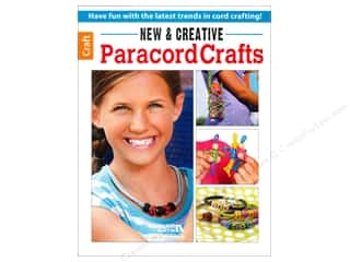 Leisure Arts New & Creative Paracord Crafts Book