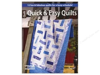 Books Clearance: Leisure Arts Quick & Easy Quilts Book