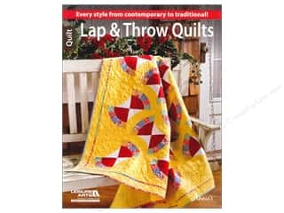 Clearance: Leisure Arts Lap & Throw Quilts Book