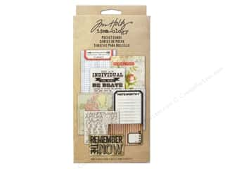 "Cards & Envelopes  4.25"" x 5.5"": Tim Holtz Idea-ology Pocket Cards"
