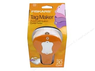 Hole punch: Fiskars Punch Craft Tag Maker Label