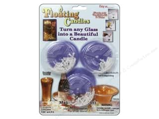 craft & hobbies: Pepperell Candle Wick Floating Kit