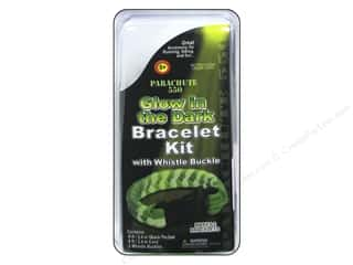 Pepperell Parachute Cord Bracelet Kit Glow In The Dark