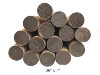 craft & hobbies: Wood Dowels 36 x 1 in. (12 pieces)