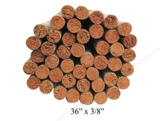 craft & hobbies: Wood Dowels 36 x 3/8 in. (45 pieces)