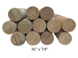 Wood Dowels 36 x 7/8 in. (15 pieces)
