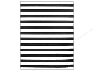 We R Memory Keepers Poster Board 22 x 28 in. Stripes Black