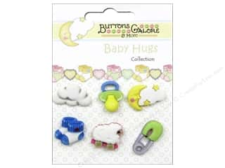 Buttons Galore Baby Hugs Buttons 6 pc. Sweet Dreams