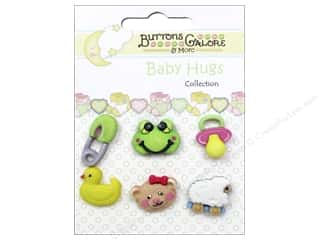 Buttons Galore Baby Hugs Buttons 6 pc. Wee Ones