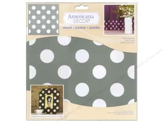 stencils: DecoArt Americana Decor Stencil 12 x 12 in. Polka Dot Pop