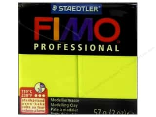 Fimo Professional Clay 2 oz. Lemon