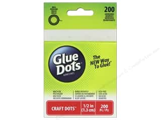Glue Dots Craft 1/2 in. 200 pc.