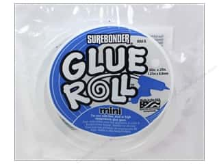 "Glues/Adhesives: Surebonder Glue Stick Roll 60"" Mini"