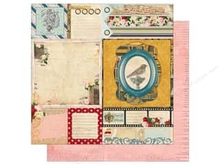 patterned paper: Bo Bunny 12 x 12 in. Paper Juliet Collection Nostalgia (25 sheets)