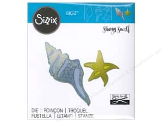 Sizzix Bigz Dies Seashells & Starfish by Sharyn Sowell