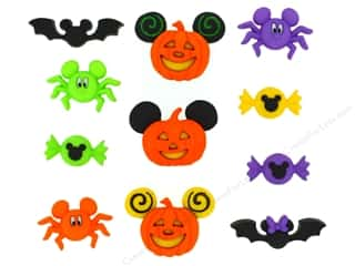 scrapbooking & paper crafts: Jesse James Dress It Up Embellishments Disney Mickey & Minnie Halloween