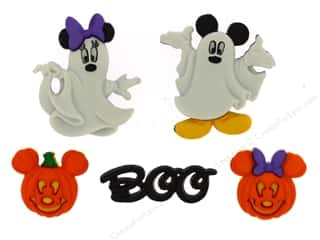 Mickey: Jesse James Dress It Up Embellishments Disney Mickey & Minnie Ghosts