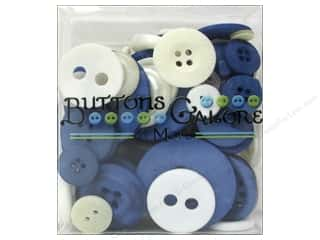Buttons Galore Button Totes 3.5 oz. Blue & White